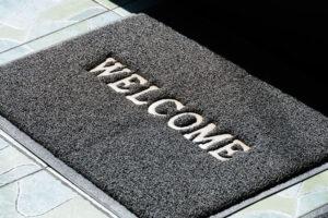 Wycieraczka wejsciowa, czyli wizytowka Twojego domu