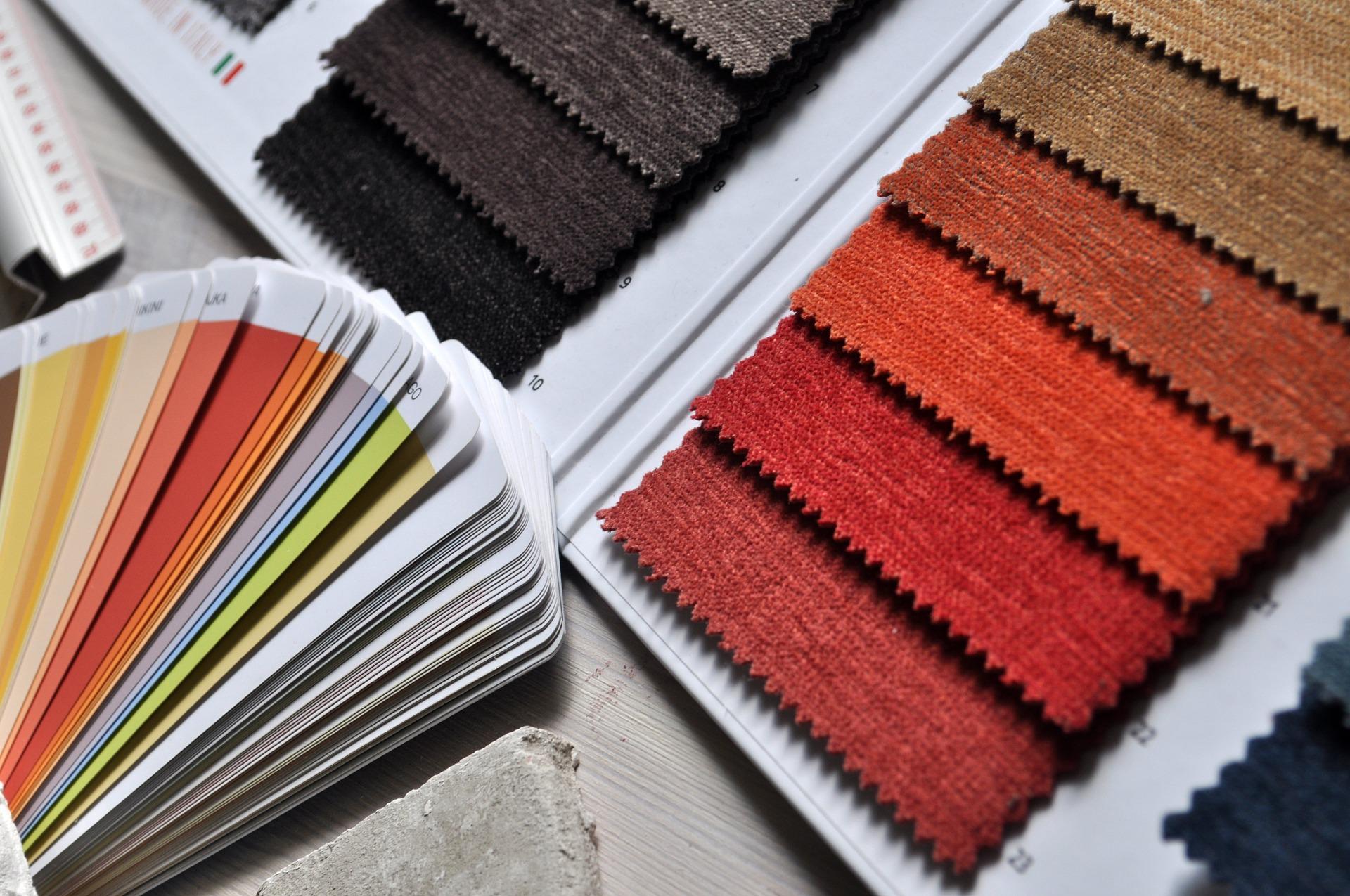 próbki dywanów