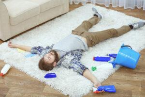 badania dywanu