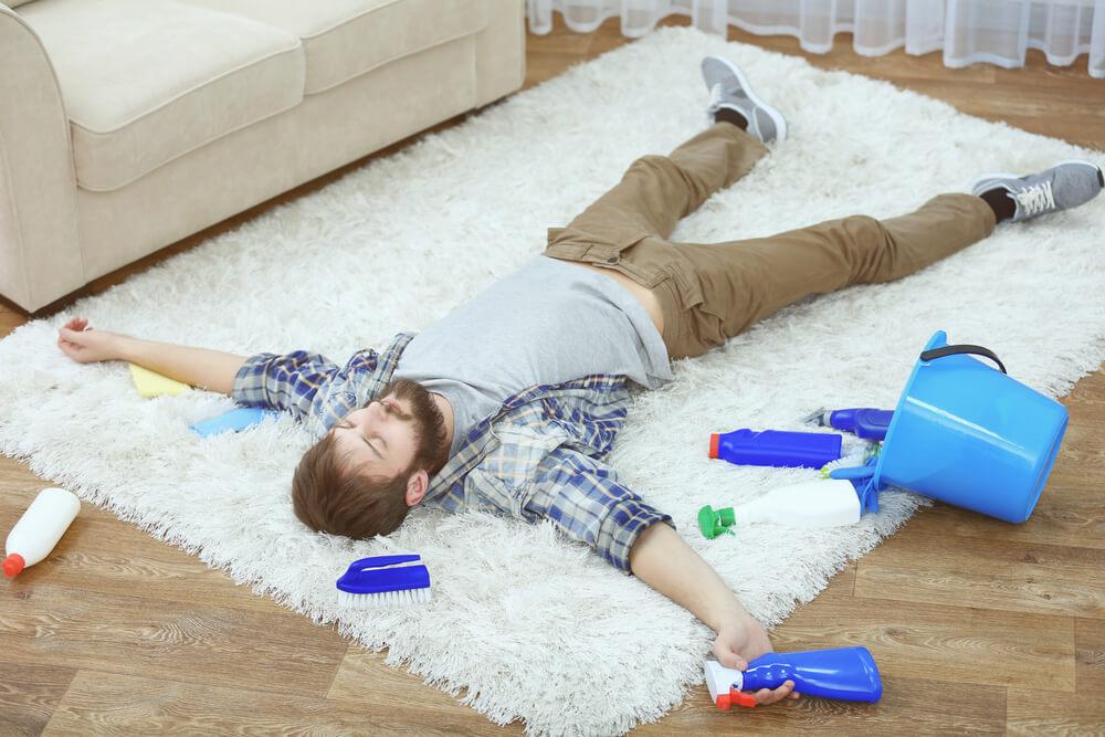 Odkurzanie to za mało, dywan należy poddawać regularnemu praniu!
