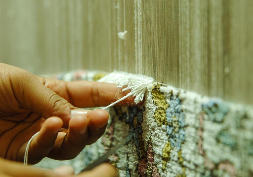 Jak utrzymac w czystości dywany jedwabne