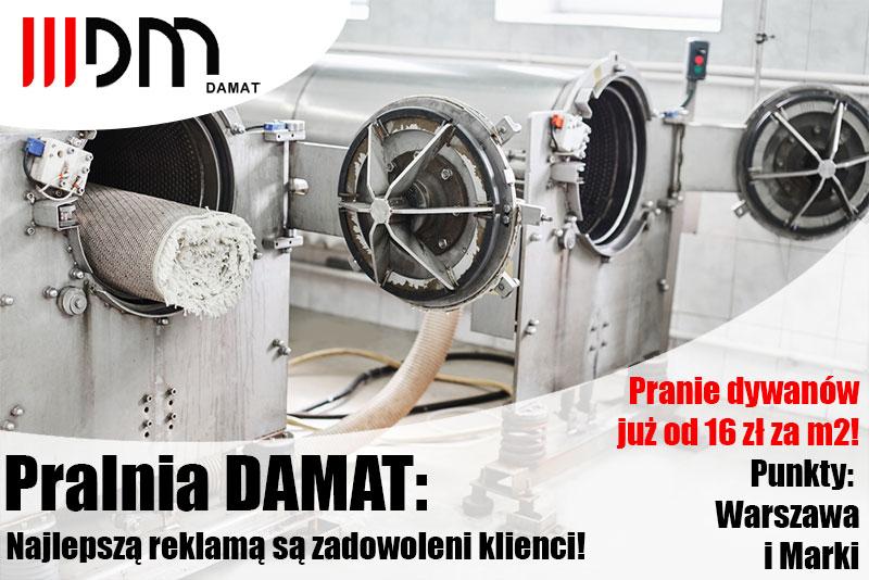 Pralnia dywanów znana z reklamy w TVP 3