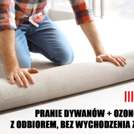 Bezpieczne pranie dywanów bez wychodzenia z domu